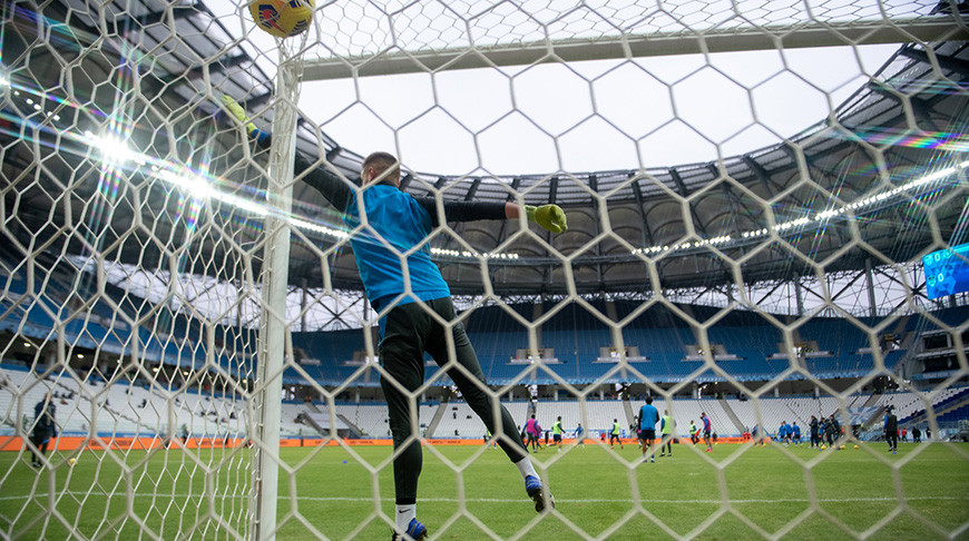 'Ротор' и 'Химки' сыграли вничью в футбольном чемпионате России