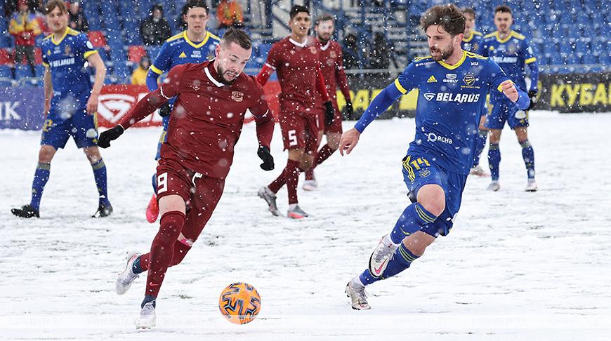БАТЭ выиграл у 'Витебска' в четвертьфинале Кубка Беларуси