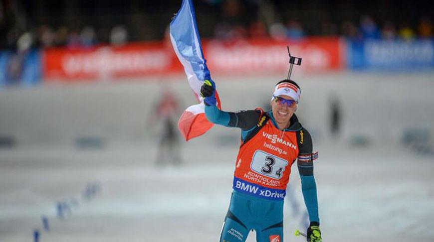 Квентен Фийон Майе. Фото biathlonworld.com