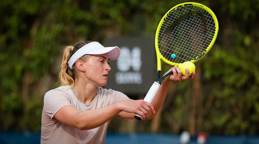 Александра Саснович вышла в 1/8 финала турнира в Санкт-Петербурге