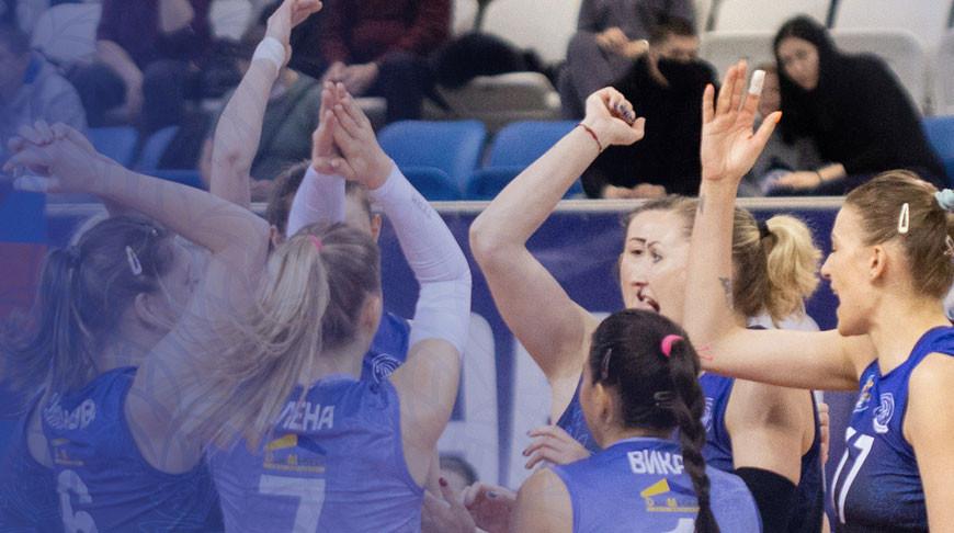 Волейболистки 'Минчанки' заняли пятое место в российской суперлиге