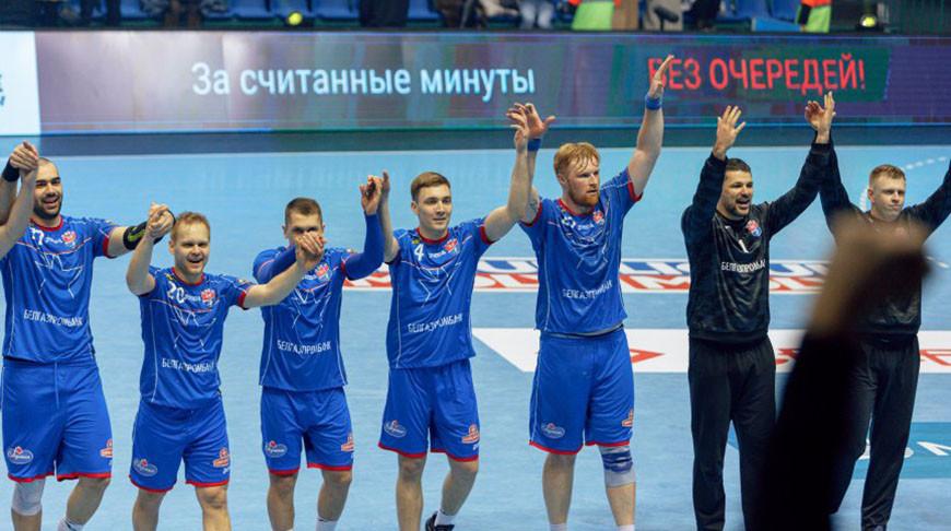 'Мешков Брест' впервые пробился в четвертьфинал гандбольной Лиги чемпионов