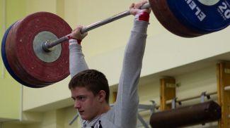 Сергей Шаренков. Фото из архива weightlifting.by