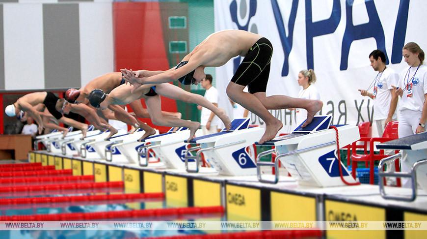Минские пловцы выиграли эстафету вольным стилем на чемпионате Беларуси