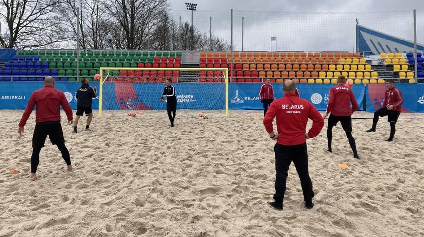 """Фото из ВК-аккаунта """"Пляжный футбол в Беларуси"""""""