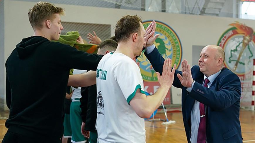 Могилевский БК«Борисфен» стал первым финалистом чемпионата Беларуси