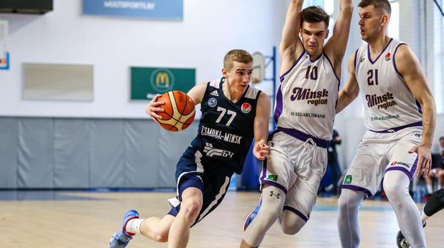 Минские 'Цмокi' вышли в финал баскетбольного чемпионата Беларуси