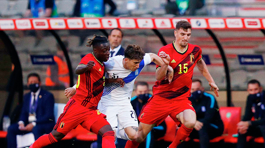 Бельгийцы не смогли победить греков в товарищеском матче