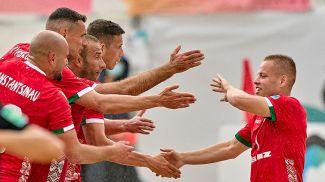 Фото Белорусской федерации пляжного футбола