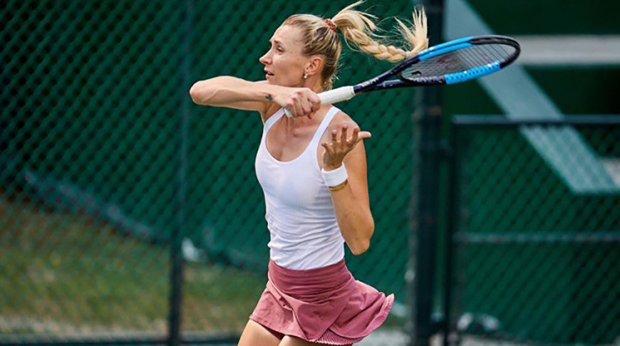 Ольга Говорцова. Фото Белорусской теннисной федерации