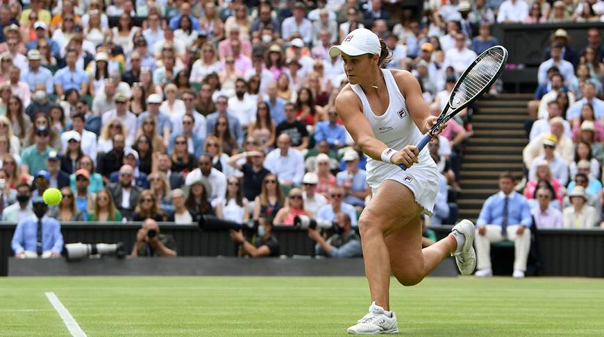 Австралийская теннисистка Эшли Барти стала первой финалисткой Уимблдона