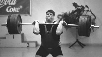 Леонид Тараненко, тяжелая атлетика, чемпион XXII летних Олимпийских игр Москва-1980