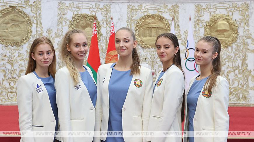 Команда по художественной гимнастике