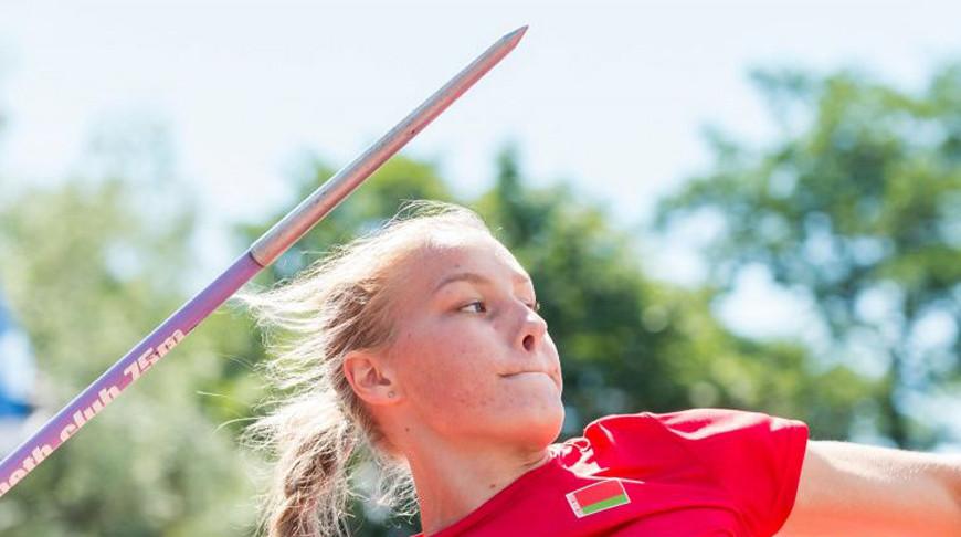 Александра Коньшина. Фото Белорусской федерации легкой атлетики