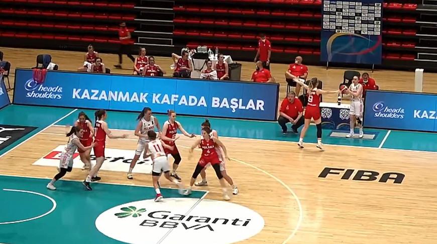 Скриншот из видео Белорусской федерации баскетбола