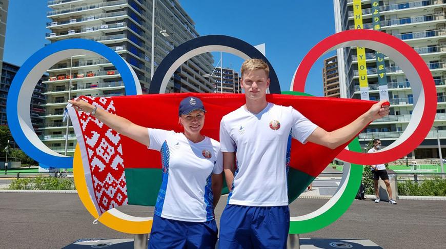 Знаменосцами белорусской делегации на  открытии Олимпиады в Токио будут Никита Цмыг и Анна Марусова