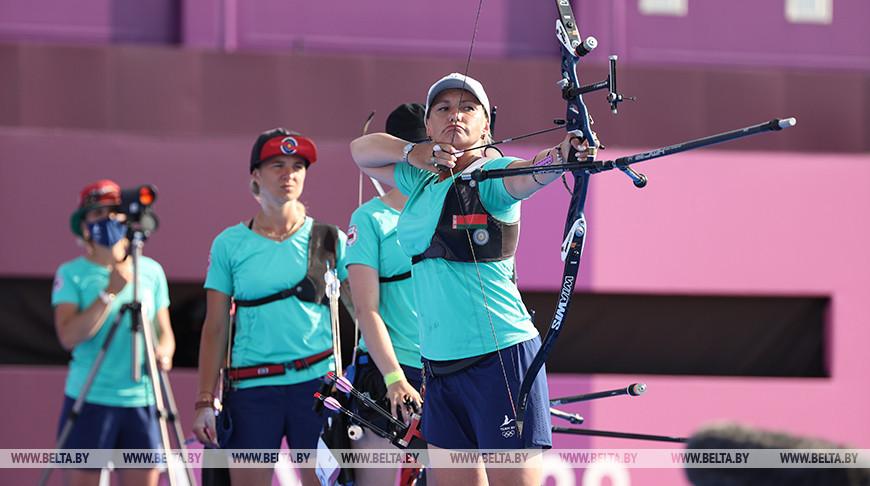 Могилевские лучницы остановились вшаге отнаград Олимпиады вТокио