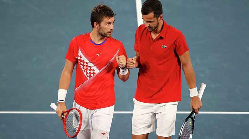 Никола Мектич и Мате Павич. Фото  Reuters