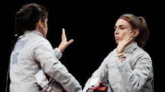 Ольга Никитина и София Позднякова. Фото ТАСС