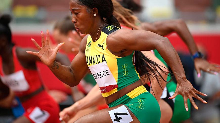 Элейн Томпсон. Фото olympics.com
