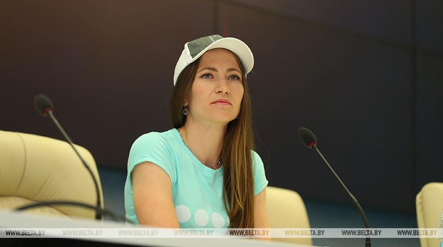 Дарья Домрачева. Фото из архива