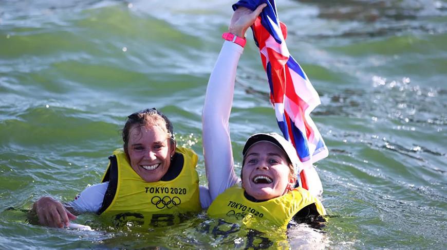 Ханна Миллз и Эйлид Макинтайр. Фото Getty Images