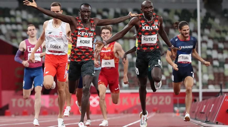 Кенийцы взяли олимпийское золото и серебро в беге на 800 м
