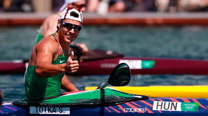 Венгерский байдарочник Тотка выиграл золото Олимпиады в гонках на 200 м