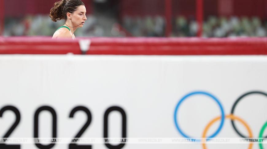 Ирина Жук заняла 8-е место в олимпийском финале по прыжкам с шестом