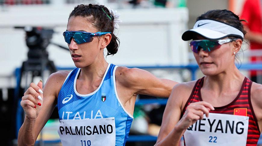 Антонелла Пальмизано стала олимпийской чемпионкой по спортивной ходьбе