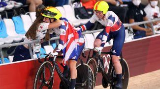Кэти Арчибальд и Лора Кенни. Фото Reuters