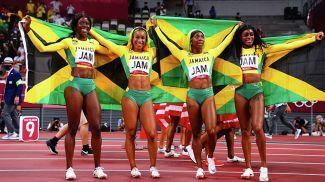 Сборная Ямайки. Фото Reuters