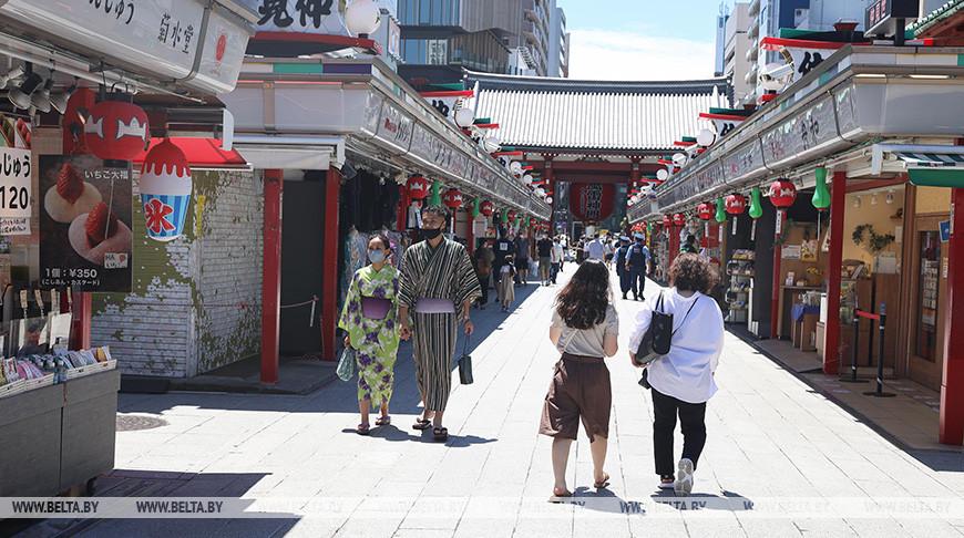 Район Асакусу в Токио