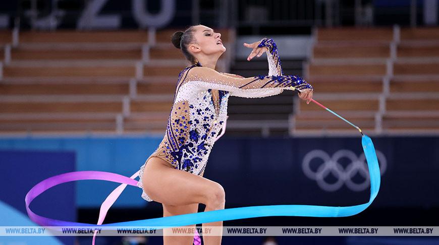 Президент НОК поздравил Алину Горносько с бронзовой медалью Игр в Токио