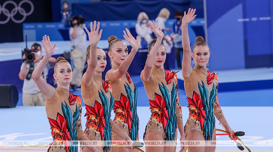 Белорусские гимнастки заняли пятое место на Играх в Токио
