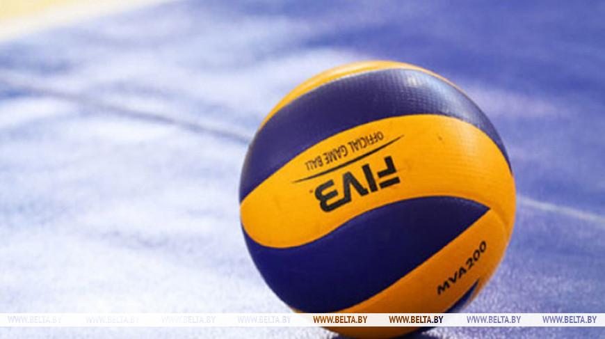 Белорусские волейболистки выиграли у Швейцарии в третьем туре группового этапа чемпионата Европы