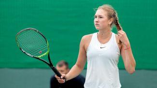 Юлия Готовко. Фото Белорусской теннисной федерации