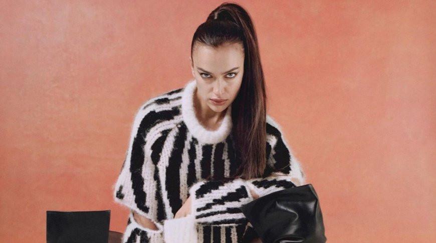 Ирина Шейк приковала внимание юзеров своим откровенным нарядом