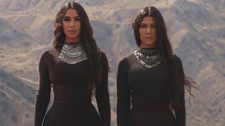 Ким и Кортни Кардашьян. Фото из Instagram