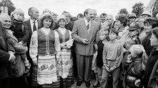 Александр Лукашенко, 1995 год. Фото president.gov.by