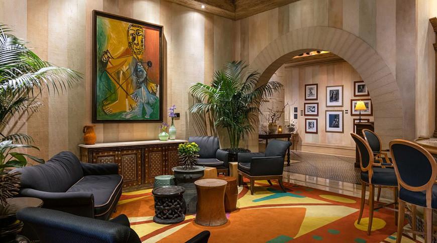 """Ресторан Пикассо в Белладжио, где находитсякартинаПикассо """"Homme et Enfant"""". Фото Sotheby's"""