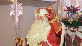 Владимир Радивилов в роли Деда Мороза