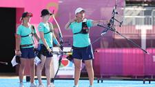 В шаге от бронзы Токио-2020: белорусские лучницы впервые приехали командой на Олимпиаду и чуть не стали сенсацией