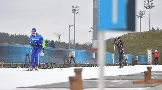 """Запасов снега в """"Раубичах"""" для проведения ЧЕ по биатлону хватит"""