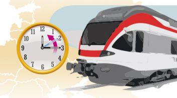 Корректировка расписания международных поездов