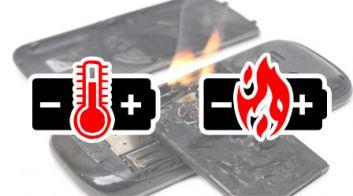 Почему загораются смартфоны