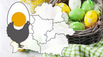 Производство яиц в Беларуси