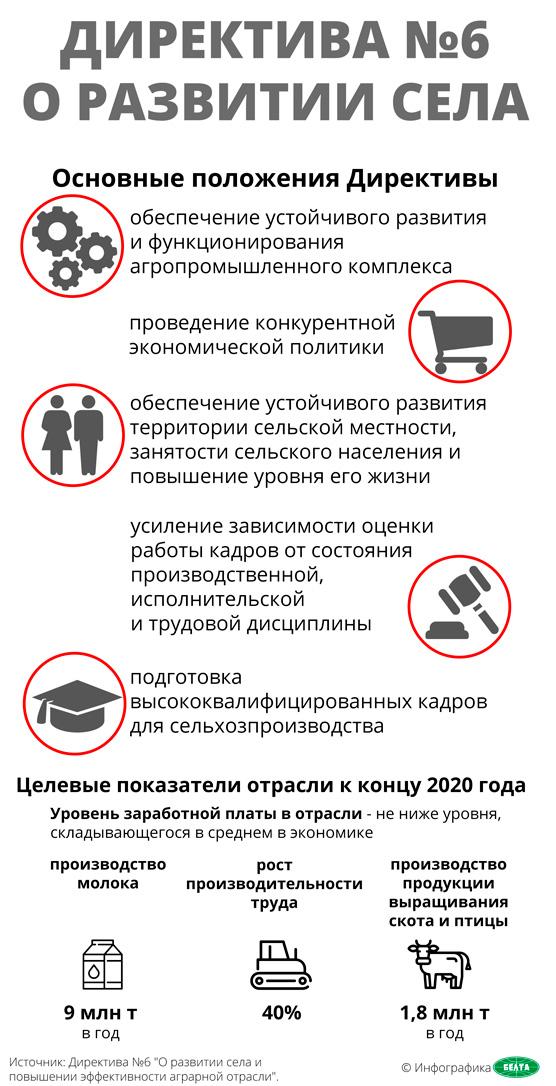 Директива №6 о развитии села