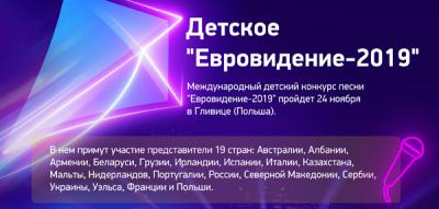 """Детское """"Евровидение-2019"""""""
