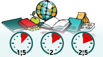 Время на домашнее задание для школьников